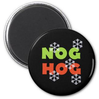 Nog Hog Magnet