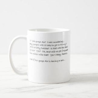 Nogrope air... how many gropes to florida? basic white mug