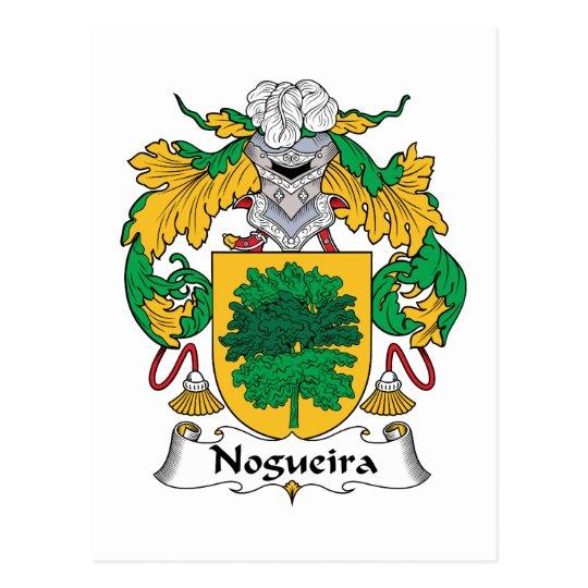 Nogueira Family Crest Postcard
