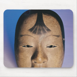 Noh theatre mask of a young boy called mouse mat