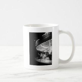 Noir carousel coffee mug