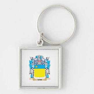 Noir Coat of Arms - Family Crest Keychains
