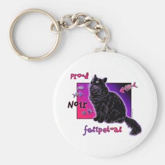 Noir Felipetual Keychain