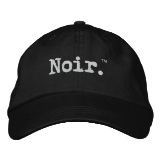 Noir Official Embroidered Hats