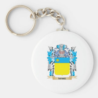 Noire Coat of Arms - Family Crest Key Chain