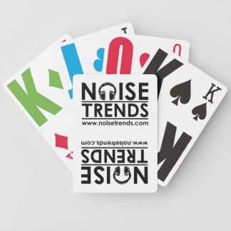 NOISEtrends Playing Cards
