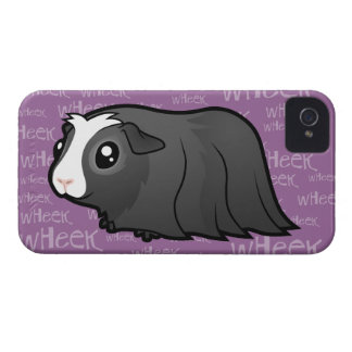 Noisy Guinea Pig (long hair) iPhone 4 Case-Mate Case