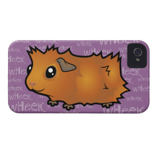 Noisy Guinea Pig (scruffy) iPhone 4 Case-Mate Cases