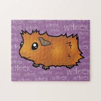 Noisy Guinea Pig (scruffy) Jigsaw Puzzle