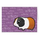 Noisy Guinea Pig (smooth hair) Cards
