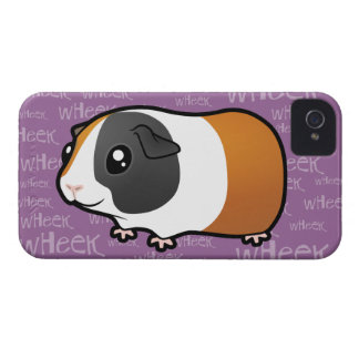Noisy Guinea Pig (smooth hair) iPhone 4 Covers