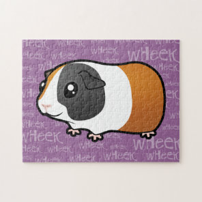 Noisy Guinea Pig (smooth hair) Jigsaw Puzzle