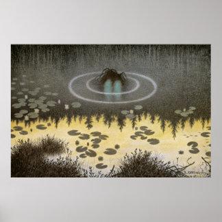 Nøkken [Water Spirit] Print