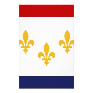 NOLA Flag png Stationery Design