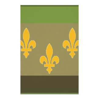 NOLA Flag Subdued.png Customized Stationery