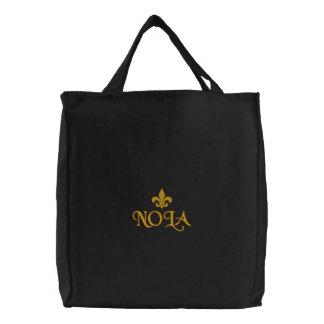 NOLA Fleur De Lis Emblem Bags