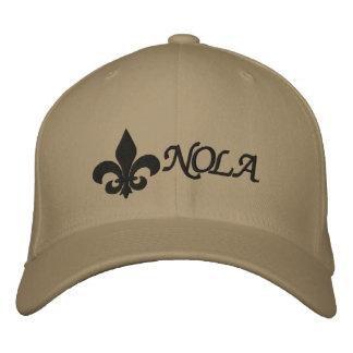 NOLA   Fleur De Lis Embroidered Hat