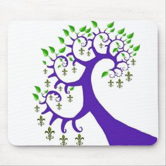 NOLA FLEUR DE LIS TREE MOUSE MAT