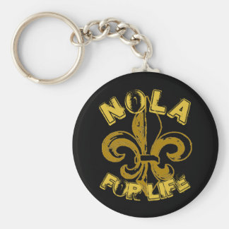 NOLA for Life keychain