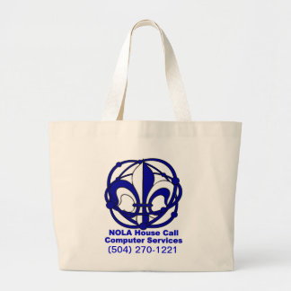 NOLA House Call Jumbo Tote Bag