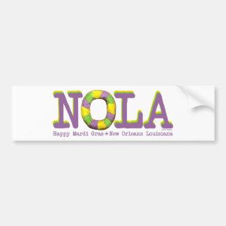 NOLA King Cake gifts Car Bumper Sticker