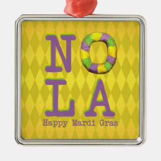 NOLA King Cake gifts Ornaments