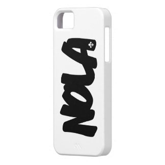 NOLA Letters iPhone 5 Cases