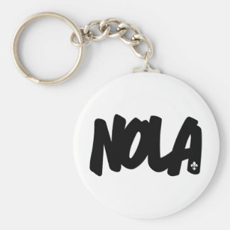 NOLA Letters Key Ring