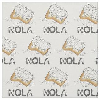 NOLA New Orleans LA Louisiana Beignet Beignets Fabric