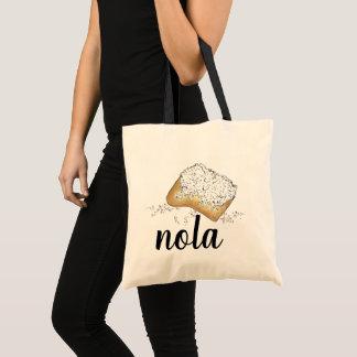 NOLA New Orleans Louisiana Beignet Pastry Beignets Tote Bag