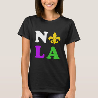 Nola New Orleans Louisiana mardi gras T-Shirt