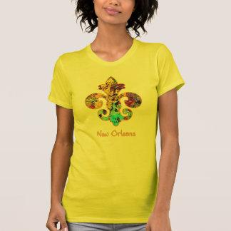 NOLA Painted Fleur de lis (4) Tshirt