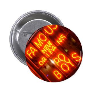 NOLA Po Boys 6 Cm Round Badge