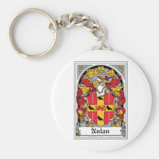 Nolan Family Crest Key Ring