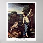 Noli Me Tangere By Antonio Allegri Da Correggio Print