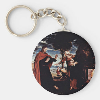 Noli Me Tangere By Hans Holbein The Younger Keychains