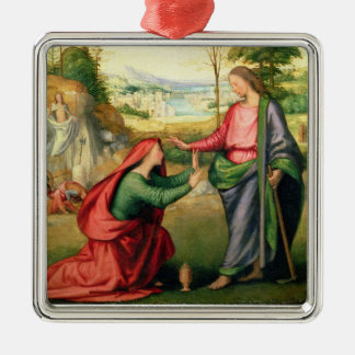 Noli me Tangere, c.1508 (oil on canvas) Christmas Ornament
