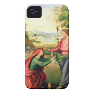Noli me Tangere, c.1508 (oil on canvas) iPhone 4 Case-Mate Cases
