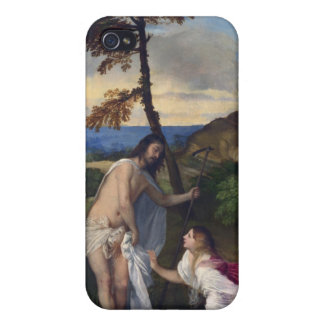 Noli me Tangere - Titian iPhone 4 Cover