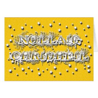 Nollaig Chridheil - Gaelic Christmas Greeting Card