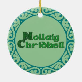 Nollaig Chridheil - Scottish Christmas Ornament