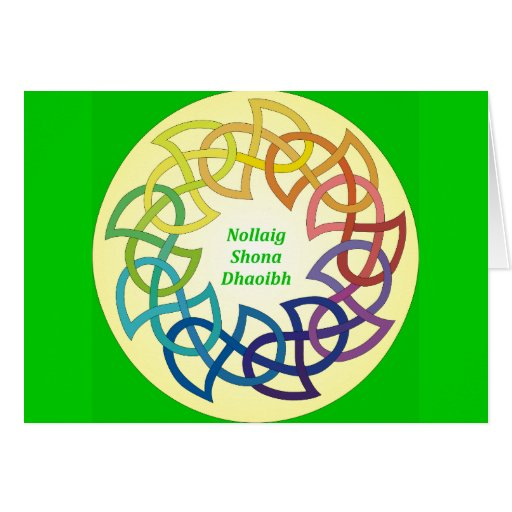 Nollaig Shona Dhaoibh - Irish Christmas Card