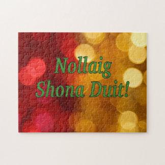 Nollaig Shona Duit! Merry Christmas in Irish gf Puzzles