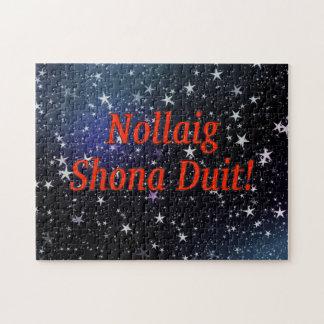 Nollaig Shona Duit! Merry Christmas in Irish rf Puzzle