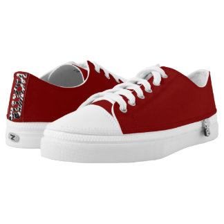 "# "" Nollie"" red Sneakers for Skater"