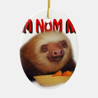 nom nom nom christmas ornament