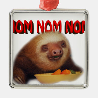 nom nom nom christmas ornament