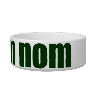 nom nom nom pet bowl