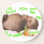 nom nom nom sloth coaster