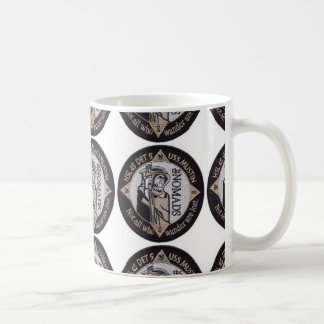 NOMADS - 'NOT ALL WHO WANDER ARE LOST' BASIC WHITE MUG